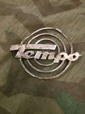 Rare ww2 Geman Tempo Off Road Vehicle Badge
