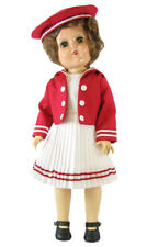 Classic Red Sailor Dress for p91 Toni Doll