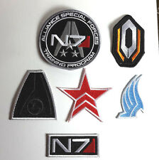 Mass Effect Video Game Alliance Special Forces Patch Set 6 Patches(MEPA-SET-6)