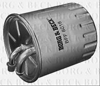 BORG & BECK FUEL FILTER FOR MERCEDES-BENZ S-CLASS DIESEL 3.0 155KW