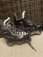 Mission Inhaler Youth Inline Hockey Skates Y13e Size 1 Tyke Chassis