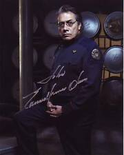 EDWARD JAMES OLMOS Autographed Signed BATTLESTAR GALACTICA Photograph - To John