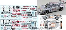 1/43 Decal Porsche 911 GT3 R 'H&R' 24h Nürburgring 2000