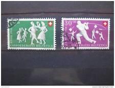 timbres Suisse : folklore, danse 1951