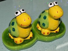 Turtle Animal Salt & Pepper Shakers With Display Tray Combine & Save on Postage!