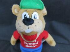 YUMMI BEAR PLUSH HERO CAP IN-LINE SKATING SKATE  PLUSH STUFFED ANIMAL TOY TEDDY