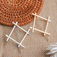 Jewelry Fashion Barretts Delicate Hair Pin  Geometry Hair Clip Girls Hairpins