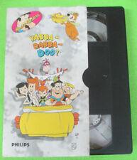 VHS film YABBA DABBA DOO The flintstones Yogi Bear Pagemaster (F107) no dvd