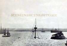 """Havana """"Wreck of the-Maine-in Harbor"""" © 1900 reprint"""
