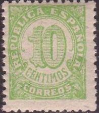 [CF7123] España 1938, Cifras, 10c (MNH)