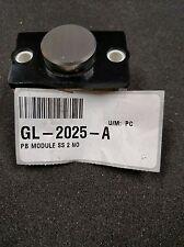 GL-2025-A ADAMS PUSH BUTTON MODULE SS 2 NO QTY 9