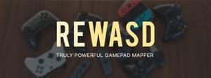 reWASD (Xbox, Elite, 360, PS, etc Gamepad Mapper) 1PC CD Key *5 Minute Delivery*