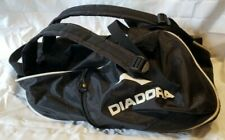 Diadora Backpack Black Lucky #5 Soccer Sports Bag Tote Ball Quality Men's Womens