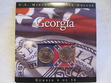 U.S. MINTED QUARTER DOLLAR 1999 GEORGIA NUMBER 4 OF 50