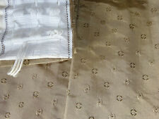 """Tape Top Lined Curtains & Tie Backs 76"""" x 72"""""""