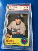 1963 Topps Walter Alston #154 PSA 6 HOF