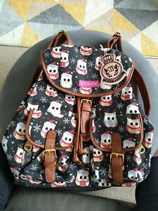 Miss Melody Owl Design Backpack
