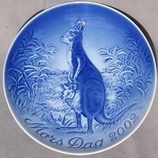 Bing & Grondahl 2002 Mother's Day Plate B&G Mib Kangaroo New in Box!