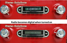 55-59 Chevy Truck  NEW USA-630 II* 300 watt AM FM Stereo Radio iPod, USB, Aux in