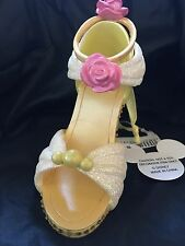 NEW DISNEY PARKS Belle Beauty And The Beast SHOE ORNAMENT CHRISTMAS