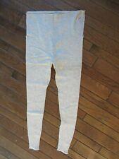 Antique/Vintage Button Top Blended Cotton/Wool Long Underwear