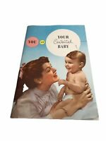 Vtg You and Your Contented Baby Booklet (PB,1956), Carnation Company
