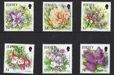 JERSEY 2007 fleurs d'été ensemble de 6 Non montés excellent état, MNH