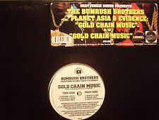"PLANET ASIA + EVIDENCE (BUMRUSH BROTHERS) - GOLD CHAIN MUSIC (12"")  2000!!  RARE"