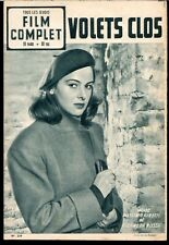 Film Complet #339 Dec 4th 1952 French Movie Mag Eleonora Rossi, Charlie Chaplin