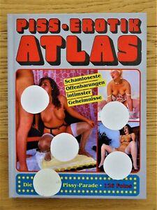 PiISS EROTIK ATLAS Sachbuch von Curt Marasotti Color Text deutsch