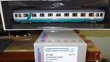 LS MODELS 47456 UIC-Z Eurofima 1 cl. XMPR FS Trenitalia, fascia obliqua verde,FS