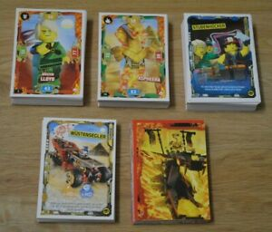Lego ninjago Series 5 Trading Card Game All 176 Basic Cards Complete Set