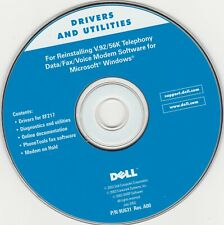 Dell Tools CD - Drivers and Utilities - Reinstalling V.92/56k Telephony Data/fax