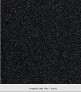 Black Altro Safety Floor Vinyl / Anti-Slip Non-Slip Flooring Commercial