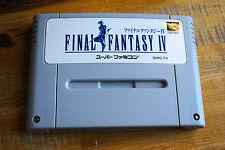 Jeu FINAL FANTASY IV 4 pour Nintendo Super FAMICOM (Jap)