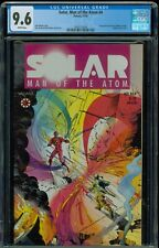SOLAR Man of the Atom #4 : CGC 9.6 1991 Valiant, Shooter Perlin Layton