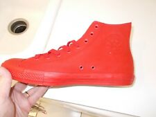 Converse CHUCK TAYLOR HI TOPS RED WITH  TECTUFF MATERIAL Shoes size 11