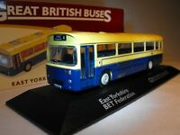 MODEL VINTAGE BUS  British Vintage Bus LEEDS EAST YORKSHIRE Bus Scale 1 72 NEW