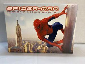 Spider-Man Edizione Limitata DVD da Collezione Regalo Set 2002 Ampio Schermo