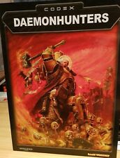 Warhammer 40,000 Codex Daemonhunters Games Workshop - Free Shipping - Cond 8/10