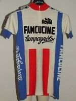 MAGLIA BICI SHIRT CICLISMO EROICA VINTAGE 70'S FAMCUCINE CAMPAGNOLO 80% LANA