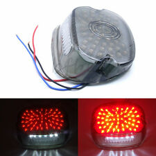 LED Tail Brake Light Lay Down Smoke for Harley Sportster Softail Dyna  1991-2010