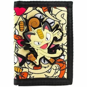 Official Pokemon Meowth 52 Team Rocket Coin & Card Wallet *SECOND*
