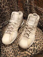 2009 Retro Men's Adidas Pro Model Size 15 US Basketball Shoes Silver