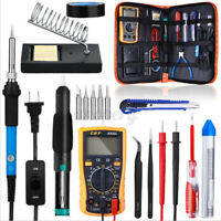 60W 21 in1 Soldering Iron Kit Electronics Welding Irons Solder Tools  FV Sn~