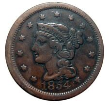 Large cent/penny 1854 attractive example