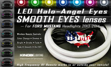 Ford Mustang 2013-14 Smooth Eyes Halo-Angel Eyes Rings kit with RF REMOTE