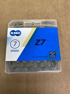 "KMC Bike Chain 1/2""x3/32"" Z7 All 7 Speed Drivetrains"