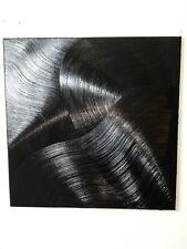 Peinture, tableau a l`huile, sur toile contemporain, abstrait format 60/60 cm