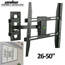 Cantilever Arm TV Wall Bracket Mount Monitor Stand Tilt Swivel For LG Sony 32-50